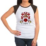 Lafleche Family Crest Women's Cap Sleeve T-Shirt