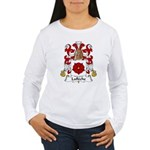 Lafleche Family Crest Women's Long Sleeve T-Shirt
