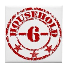 Household 6  Tile Coaster