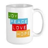 Joy Peace Love Hope Mug