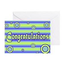 Congratulations Greeting Cards (Pk of 20)