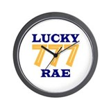 Lucky Rae Wall Clock