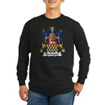 Hennequin Family Crest Long Sleeve Dark T-Shirt