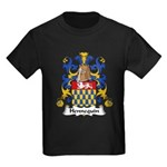 Hennequin Family Crest Kids Dark T-Shirt