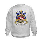 Hennequin Family Crest Kids Sweatshirt