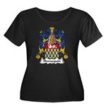 Hennequin Family Crest Women's Plus Size Scoop Nec