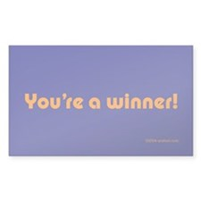 You're A Winner sticker