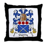 Guerry Family Crest Throw Pillow