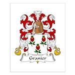 Granier Family Crest Small Poster