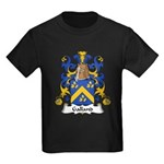 Galland Family Crest Kids Dark T-Shirt