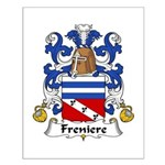 Freniere Family Crest Small Poster