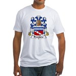Freniere Family Crest Fitted T-Shirt
