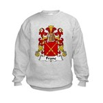 Franc Family Crest  Kids Sweatshirt