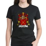 Franc Family Crest  Women's Dark T-Shirt