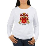 Franc Family Crest  Women's Long Sleeve T-Shirt