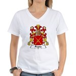 Franc Family Crest  Women's V-Neck T-Shirt