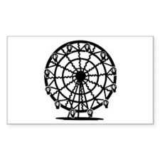 Ferris Wheel Rectangle Decal