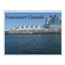 Beautiful Vancouver B.C Wall Calendar
