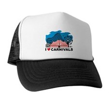 I Love Carnival Trucker Hat