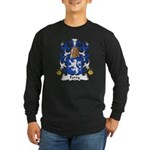 Ferry Family Crest Long Sleeve Dark T-Shirt