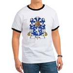 Ferry Family Crest Ringer T