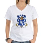 Ferry Family Crest Women's V-Neck T-Shirt