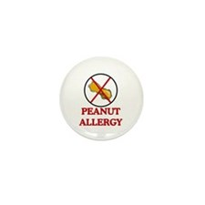NO PEANUTS Peanut Allergy Mini Button (10 pack)