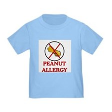 NO PEANUTS Peanut Allergy T
