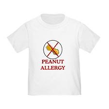 NO PEANUTS Peanut Allergy T