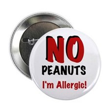"Peanut Allergy 2.25"" Button (10 pack)"