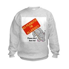 No Peanuts Elephant Sweatshirt