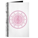 Pink Circle of Fifths Journal