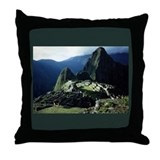 MACHU PICCHU Throw Pillow