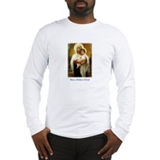 Mary, Mother of God Long Sleeve T-Shirt