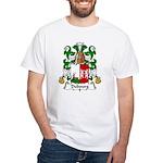Dubourg Family Crest White T-Shirt