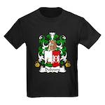 Dubourg Family Crest Kids Dark T-Shirt
