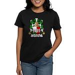Dubourg Family Crest Women's Dark T-Shirt