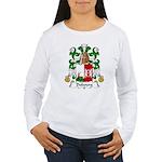 Dubourg Family Crest Women's Long Sleeve T-Shirt