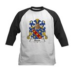 Devos Family Crest Kids Baseball Jersey