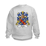 Devos Family Crest Kids Sweatshirt