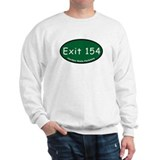 Exit 154 - US 46 - Clifton T Sweatshirt