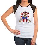 Cusson Family Crest  Women's Cap Sleeve T-Shirt