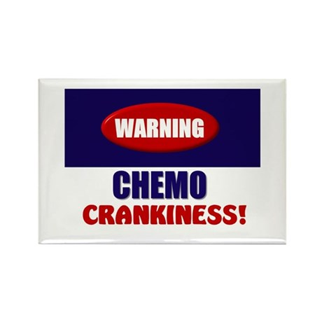 Chemo Crankiness Rectangle Magnet (10 pack)