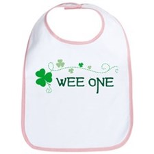 wee one Shamrock Bib