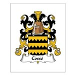 Cosse Family Crest Small Poster