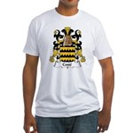 Cosse Family Crest Fitted T-Shirt