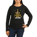 Cosse Family Crest Women's Long Sleeve Dark T-Shir