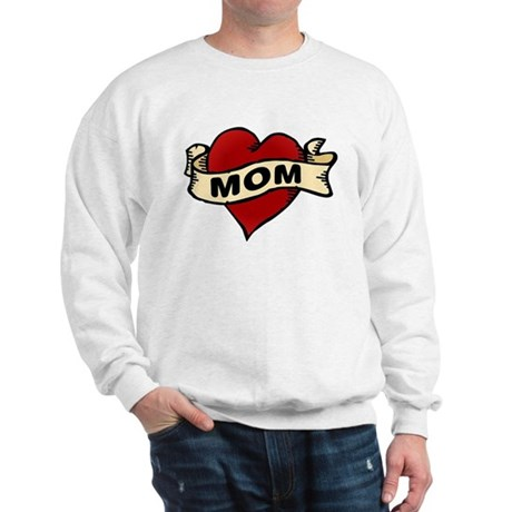 Mom heart tattoo Sweatshirt