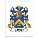 Combe Family Crest  Small Poster