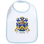 Combe Family Crest  Bib